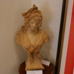 Plaster Bust of Girl  Early C20th