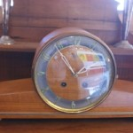 Vintage German Urgos Chiming Mantel Clock