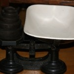 Antique Cast Iron Scales
