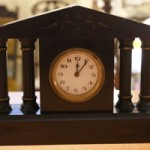 Antique French Wind Up Marble Mantel Clock
