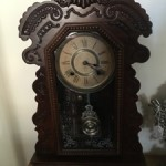 Antique Ansonia Cottage Clock