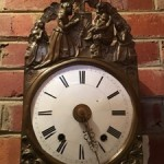 Antique French Morbier Comtoise Clock