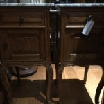 Pair French Bedside Cabinets